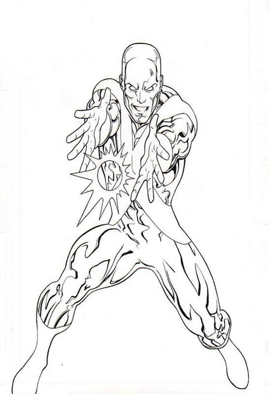 Ice Man- Marvel Universe Toy Series Art