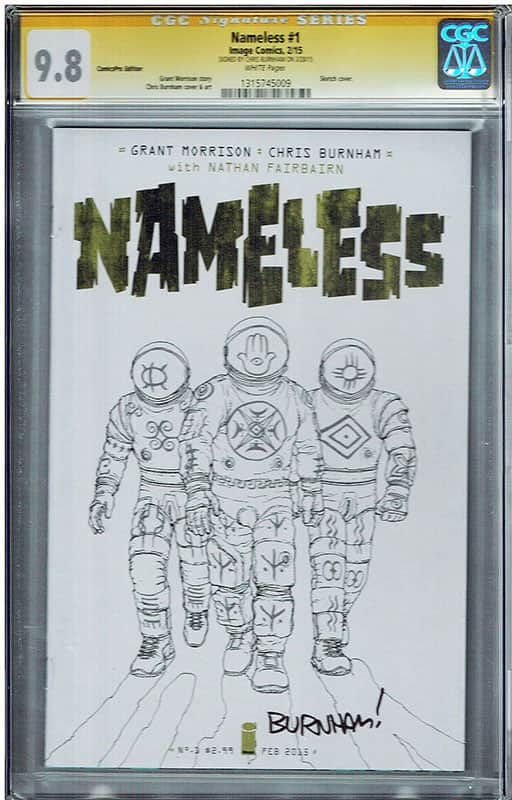 Nameless # 1 CGC 9.8 Signature Series