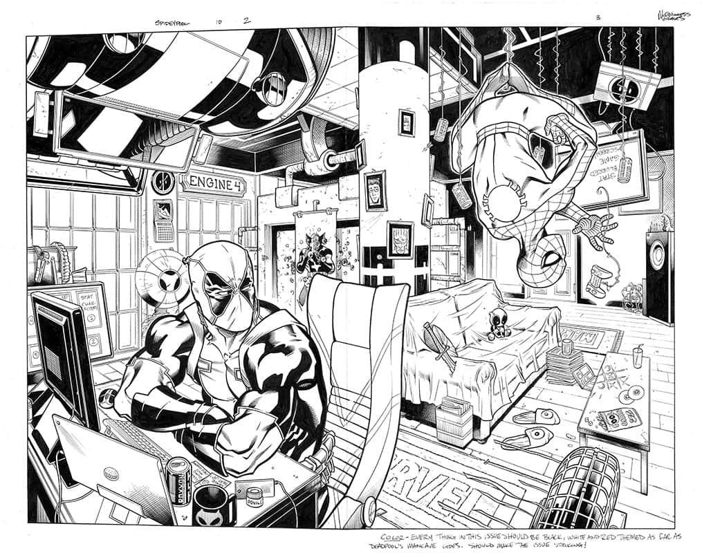 Spider-man / Deadpool #10 pg 2&3