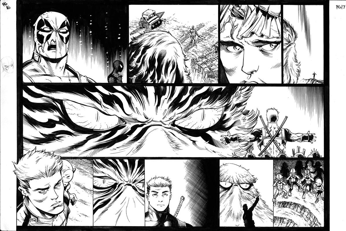 Spider-Man / Deadpool #13 pg16&17