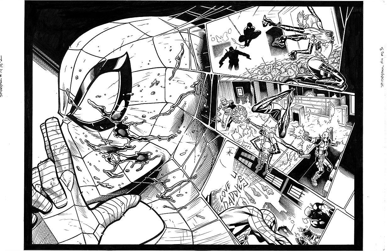 Spider-Man / Deadpool #14 pg 2&3