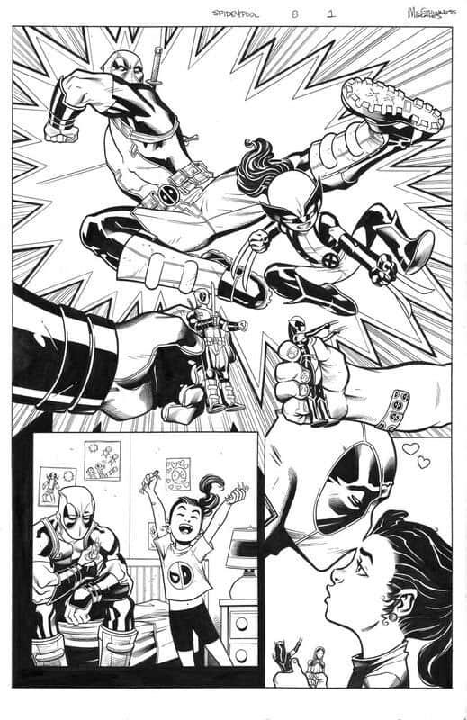 Spider-Man / Deadpool # 8 pg 1