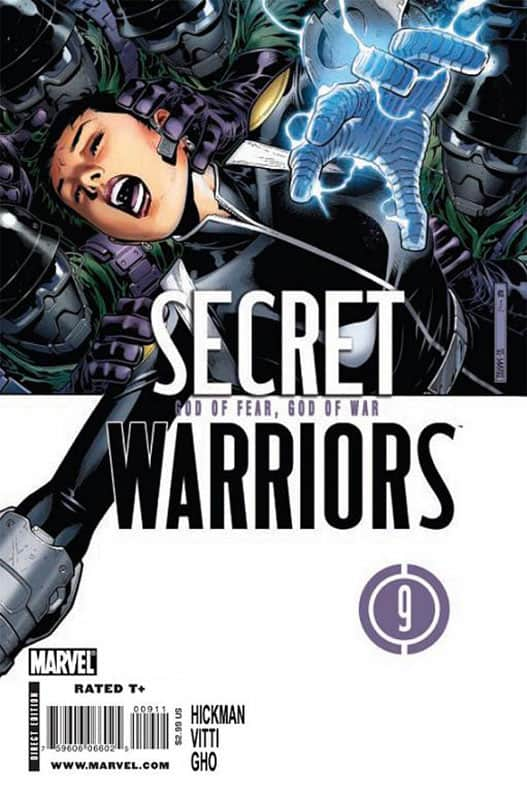 Secret Warriors # 9