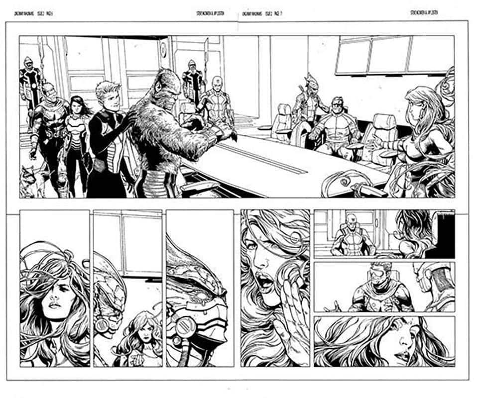 Uncanny InHumans # 2 pg 6&7