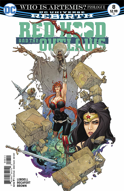 Red Hood & the Outlaws # 8