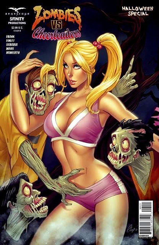 Zombie vs. Cheerleaders Halloween Special