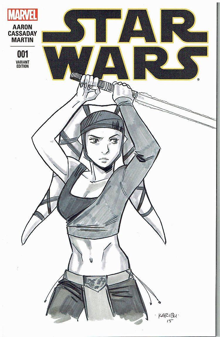 Star Wars # 1 Aayla Secura CGC 9.8 WP Signature Series