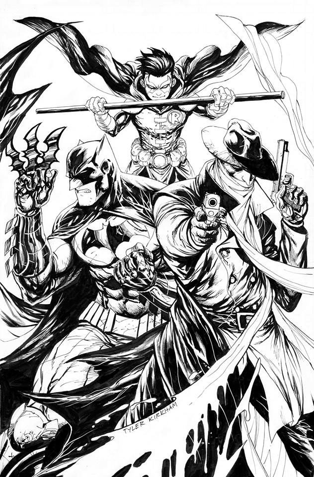 Batman / The Shadow # 1