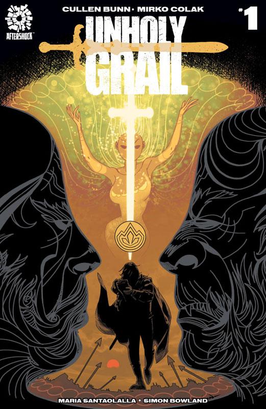 UnHoly Grail # 1 Merlin Set