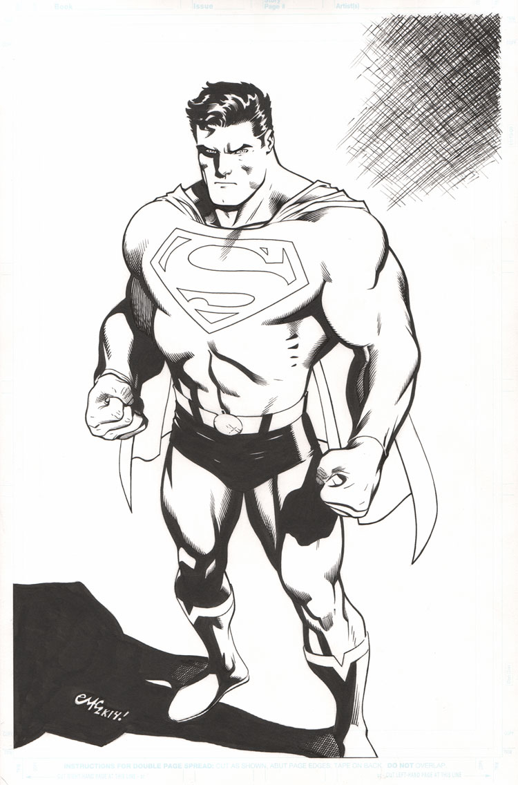 Ed McGuinness- Commissions