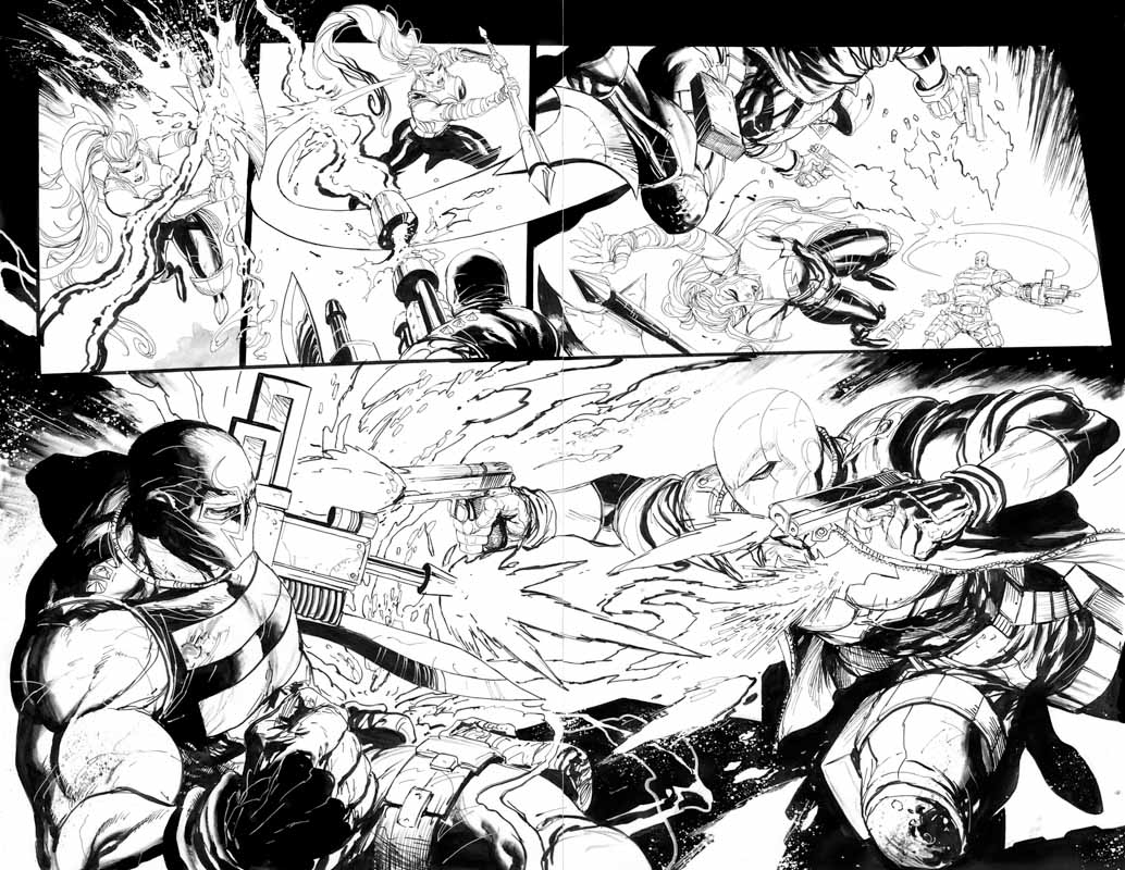 Red Hood & the Outlaws Annual # 1 pg28 & 29
