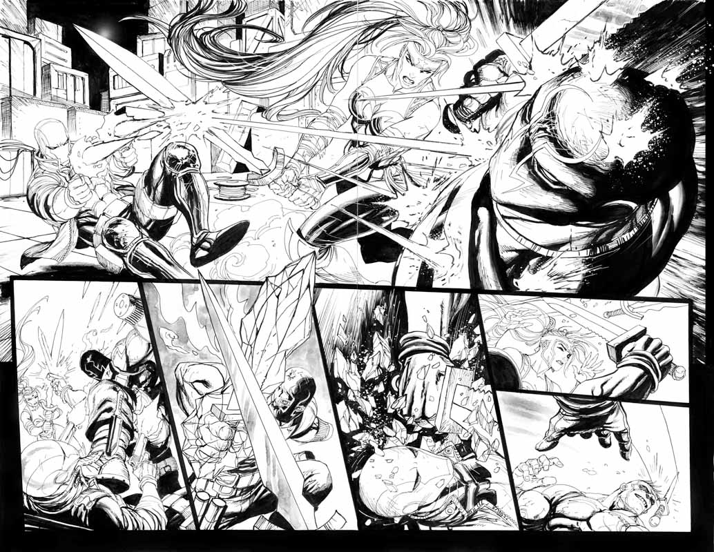 Red Hood & the Outlaws Annual # 1 pg32 & 33