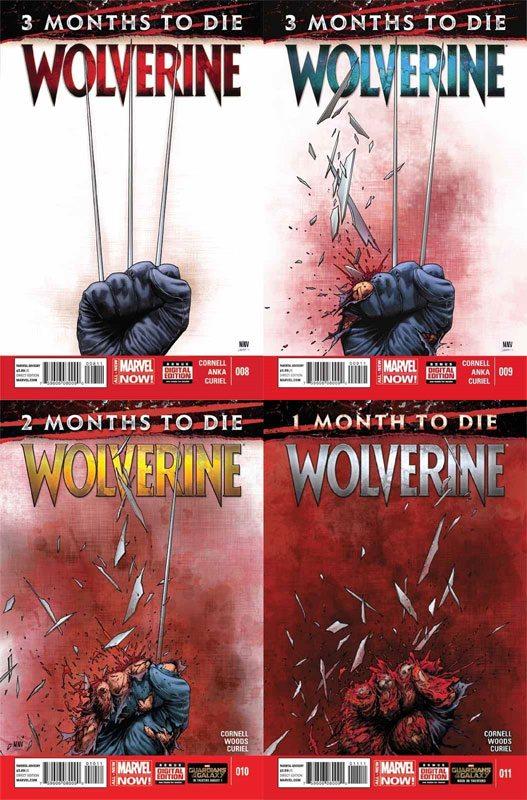 Wolverine #8,9,10,11, & 12
