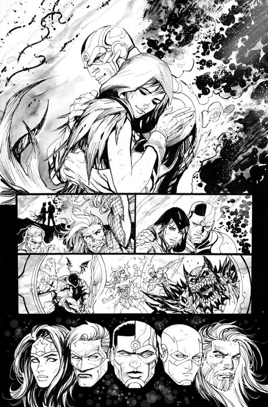 Justice League #33 pg15