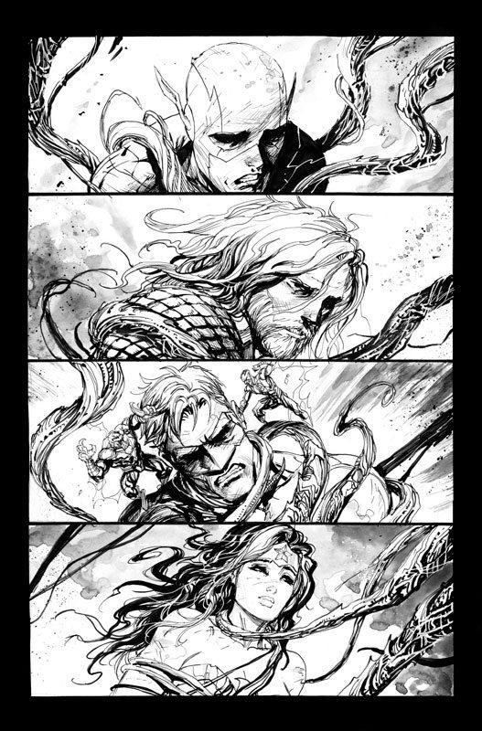 Justice League #33 pg 1