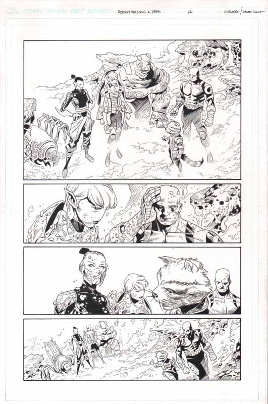 Guardians of the Infinity # 2 pg14