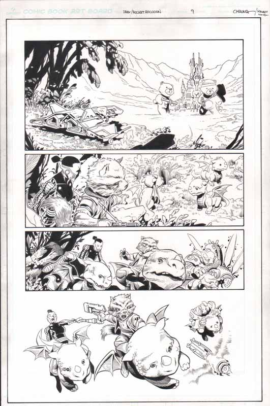 Guardians of the Infinity # 2 pg 9