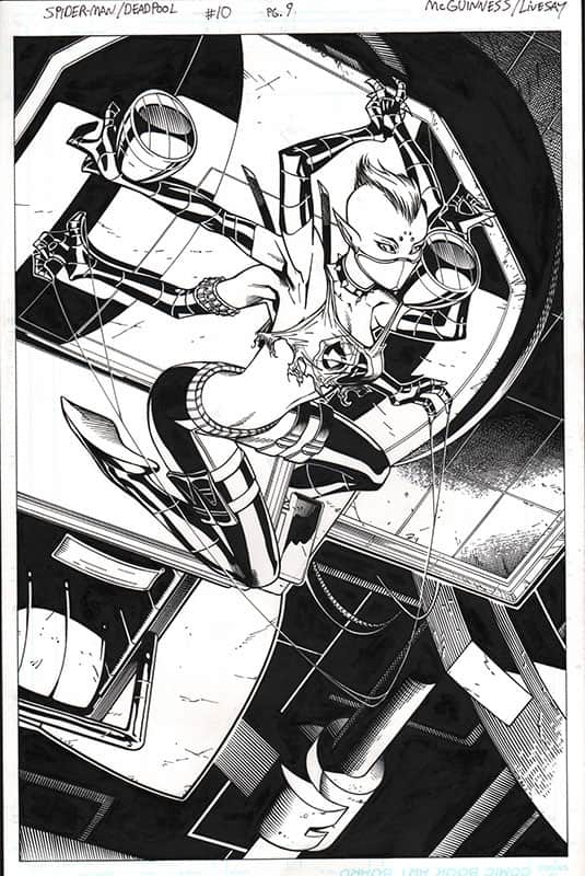 Spider-man / Deadpool #10 pg 9