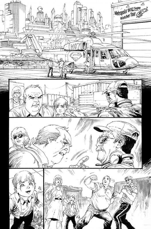 Action Comics #968 pg 1