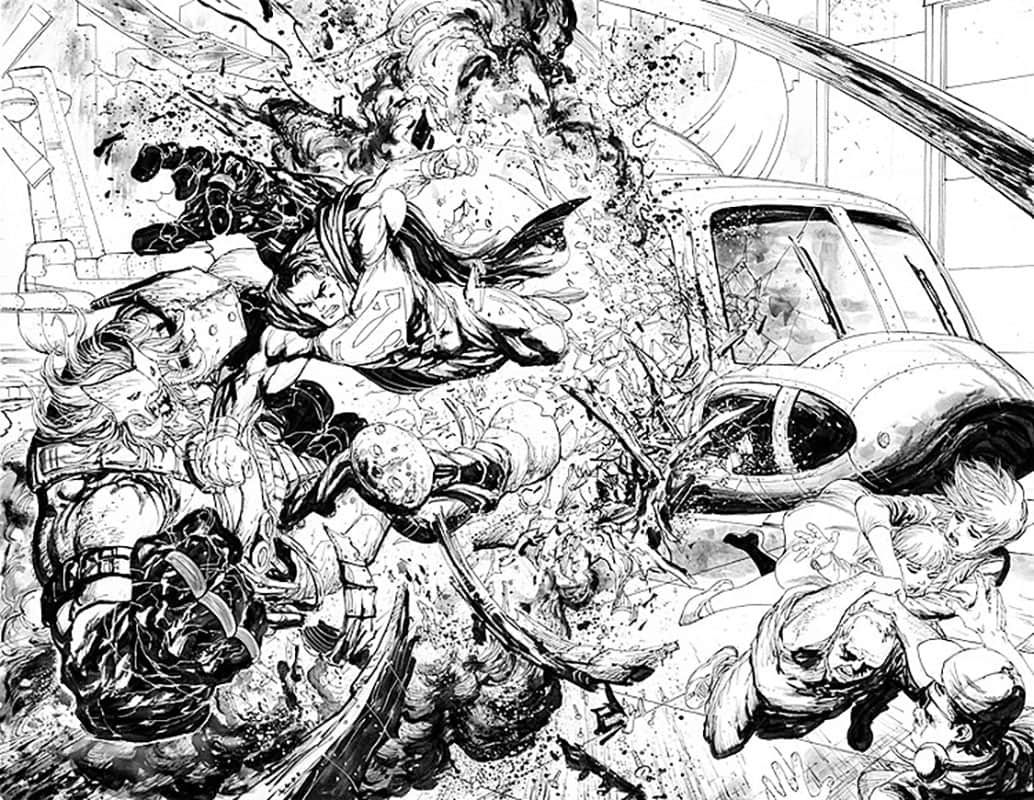 Action Comics #968 pg 2&3