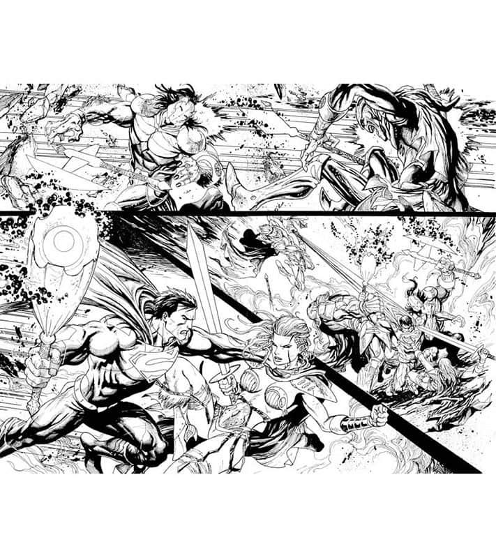 Action Comics #23 pg 6&7