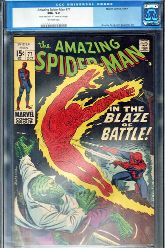 Amazing Spiderman # 77 CGC 9.2 OWP