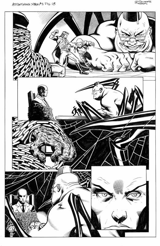 Astonishing X-men # 3 pg18