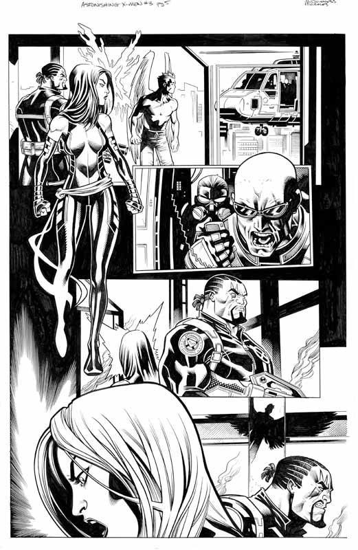 Astonishing X-men # 3 pg 5