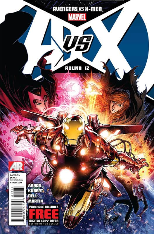 Avengers vs X-Men  #12A