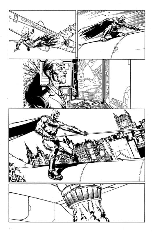 Batman # 1 Rebirth pg 14