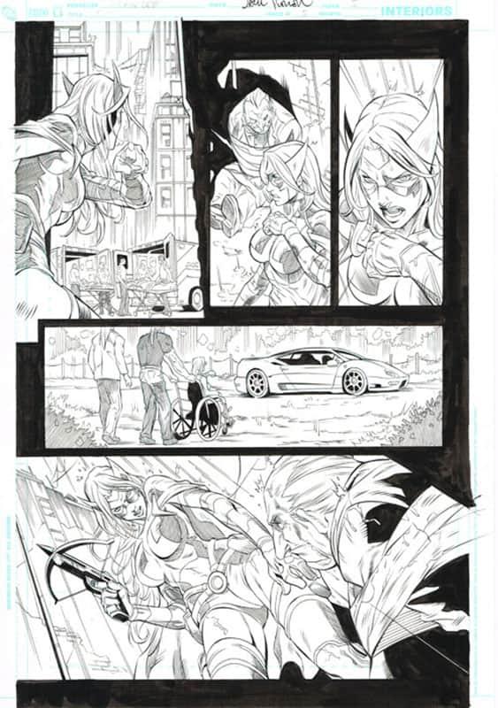 Birds of Prey # 5 pg 5