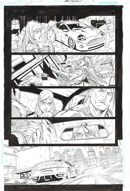 Birds of Prey # 5 pg 7