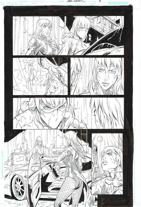 Birds of Prey # 5 pg 8