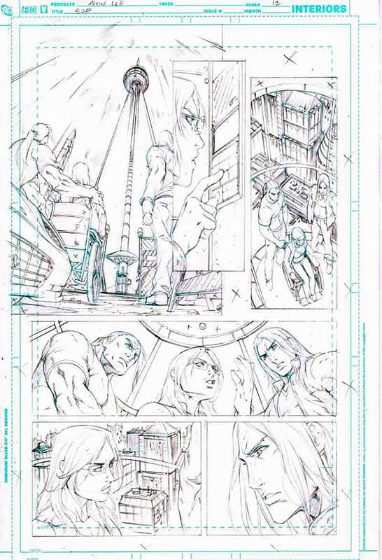 Birds of Prey # 5 pg12