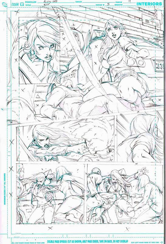 Birds of Prey # 5 pg19 & 20