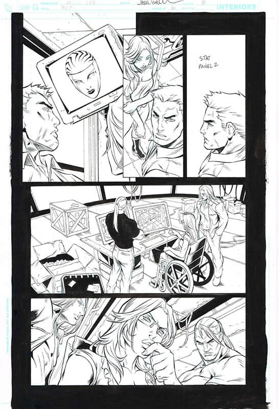 Birds of Prey # 6 pg 8