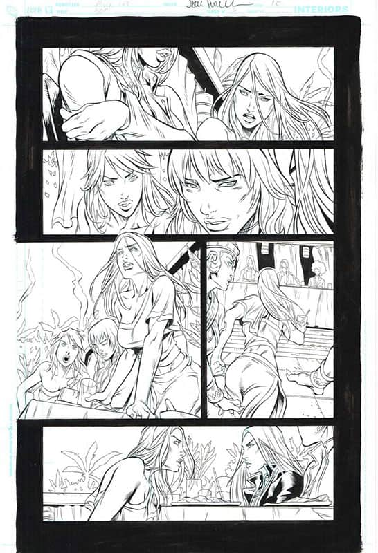 Birds of Prey # 6 pg10