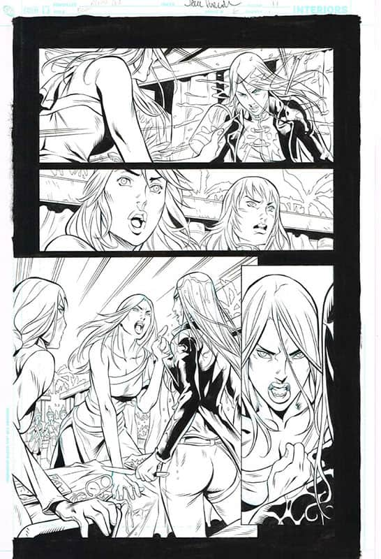 Birds of Prey # 6 pg11