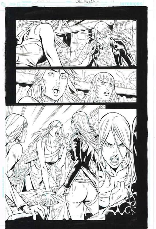 Birds of Prey # 6 pg11