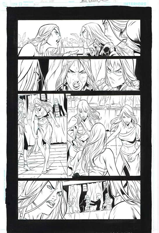 Birds of Prey # 6 pg13