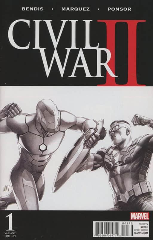 Civil War II # 1