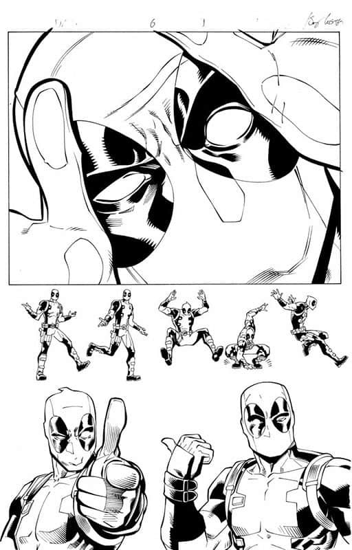 DeadPool & Cable Split Second # 6 pg 1
