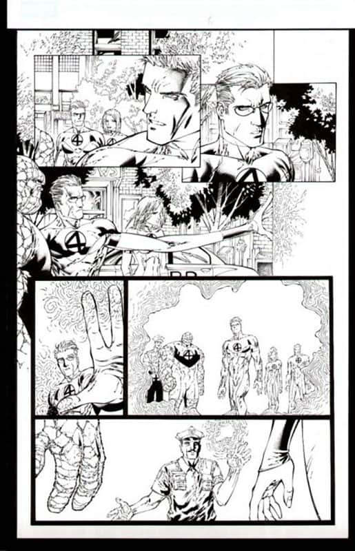 Ultimate Fantastic Four #50 pg 6