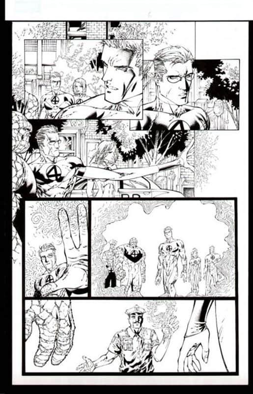 Ultimate Fantastic Four #50 pg 6