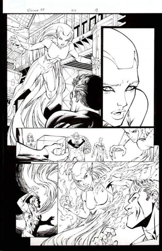 Ultimate Fantastic Four #50 pg 9