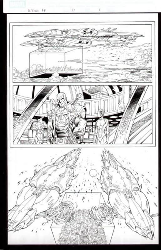 Ultimate Fantastic Four #51 pg 1