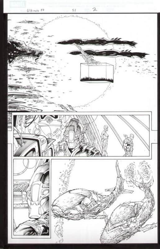 Ultimate Fantastic Four #51 pg 2