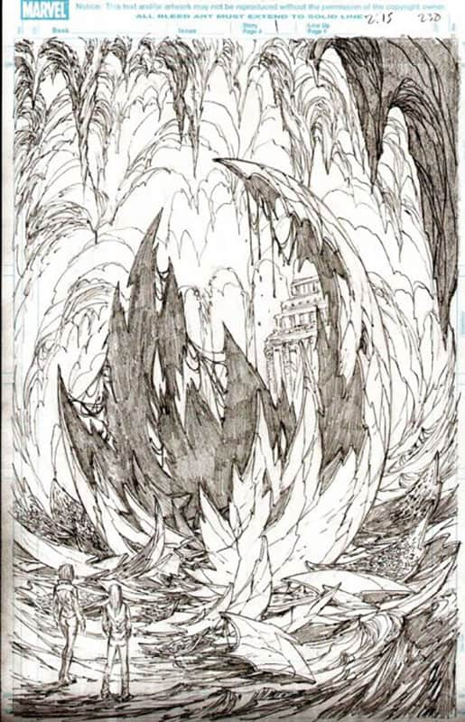 Ultimate Fantastic Four #54 pg 1
