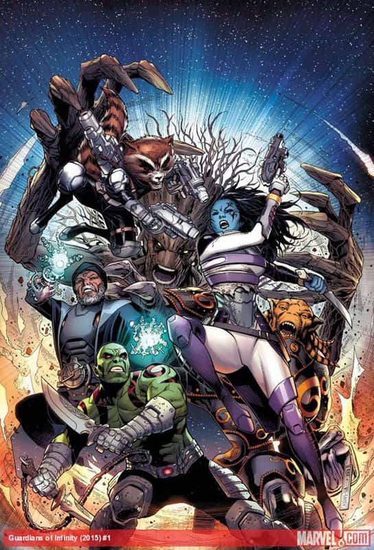 Guardians of the Infinity # 1