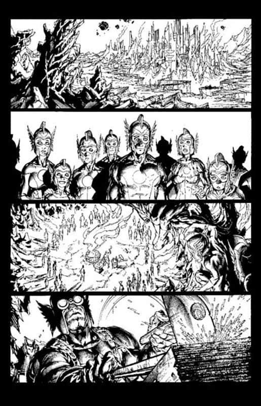 Green Lantern Corps #53 pg 1